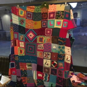 Lynne's Quilt at Book Launch